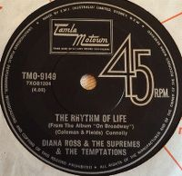 Cover The Supremes with Diana Ross And The Temptations - The Rhythm Of Life