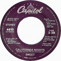 Cover The Sweet - California Nights