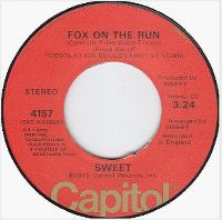 Cover The Sweet - Fox On The Run