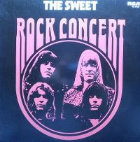 Cover The Sweet - Rock Concert