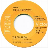 Cover The Sweet - The Six Teens