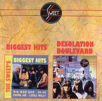 Cover The Sweet - The Sweet's Biggest Hits / Desolation Boulevard