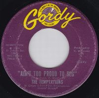 Cover The Temptations - Ain't Too Proud To Beg