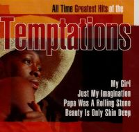 Cover The Temptations - All Time Greatest Hits Of The Temptations