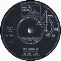 Cover The Temptations - It's Growing