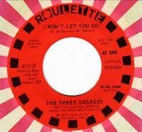 Cover The Three Degrees - I Won't Let You Go