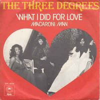 Cover The Three Degrees - What I Did For Love