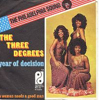 Cover The Three Degrees - Year Of Decision