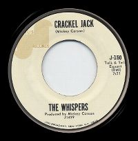 Cover The Whispers - Crackel Jack