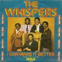 Cover The Whispers - I Can Make It Better