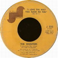Cover The Whispers - I Love The Way You Make Me Feel