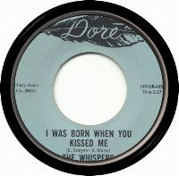 Cover The Whispers - I Was Born When You Kissed Me