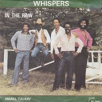 Cover The Whispers - In The Raw
