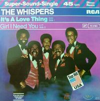 Cover The Whispers - It's A Love Thing