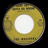 Cover The Whispers - Seems Like I Gotta Do Wrong