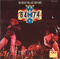 Cover The Who - '64-'74 - The Best Of The Last Ten Years