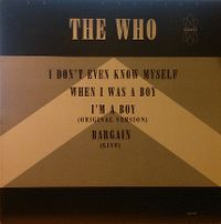 Cover The Who - I Don't Even Know Myself