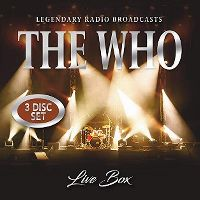 Cover The Who - Live Box - Legendary Radio Broadcasts