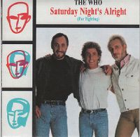 Cover The Who - Saturday Night's Alright (For Fighting)