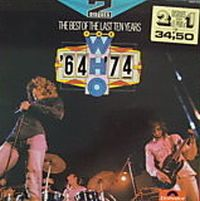 Cover The Who - The Best Of Ten Years 1964-1974