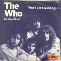 Cover The Who - Won't Get Fooled Again