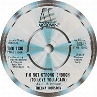 Cover Thelma Houston - I'm Not Strong Enough (To Love You Again)