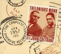 Cover Thelonious Monk with John Coltrane - The Complete 1957 Riverside Recordings