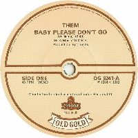 Cover Them - Baby Please Don't Go