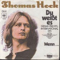 Cover Thomas Hock - Du weißt es