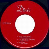 Cover Thumper Jones - Blue Suede Shoes