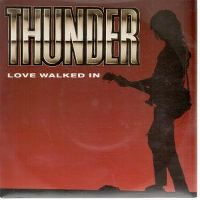 Cover Thunder - Love Walked In
