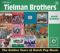 Cover Tielman Brothers - The Golden Years Of Dutch Pop Music