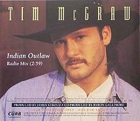 Cover Tim McGraw - Indian Outlaw