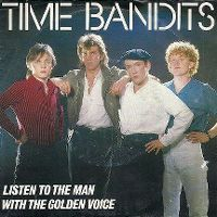 Cover Time Bandits - Listen To The Man With The Golden Voice