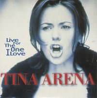 Cover Tina Arena - Live (For The One I Love)
