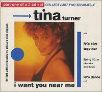 Cover Tina Turner - I Want You Near Me