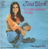 Cover Tina York - Liechtensteiner Polka