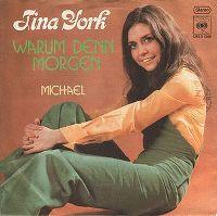 Cover Tina York - Warum denn morgen