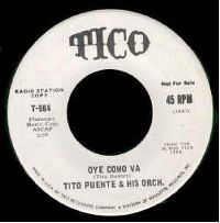 Cover Tito Puente & His Orchestra - Oye como va