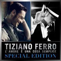 Cover Tiziano Ferro - L'amore è una cosa semplice