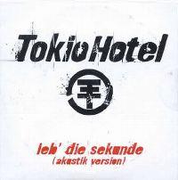 Cover Tokio Hotel - Leb' die Sekunde
