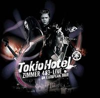 Cover Tokio Hotel - Zimmer 483 - Live In Europe