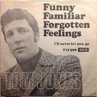 Cover Tom Jones - Funny Familiar Forgotten Feelings
