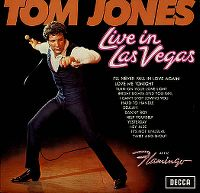 Cover Tom Jones - Live In Las Vegas