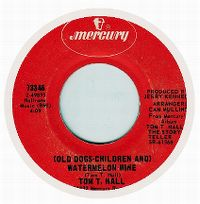 Cover Tom T. Hall - Old Dogs, Children And Watermelon Wine