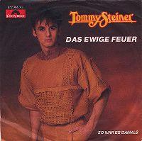 Cover Tommy Steiner - Das ewige Feuer