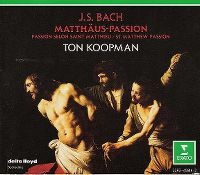Cover Ton Koopman / The Amsterdam Baroque Orchestra & Choir - Johann Sebastian Bach - Matthäus Passion
