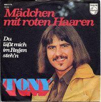 Cover Tony - Mädchen mit roten Haaren