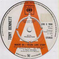 Cover Tony Bennett - (Where Do I Begin) Love Story