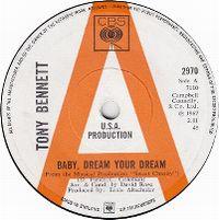 Cover Tony Bennett - Baby Dream Your Dream